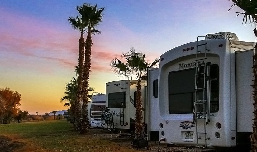RV Life, Hollywood Job Opp? Colorado River drone, Quartzsite 2018 or bust!