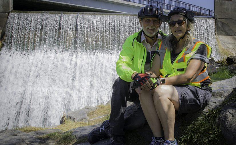Around the Beautiful Greenbelt of Twin Falls
