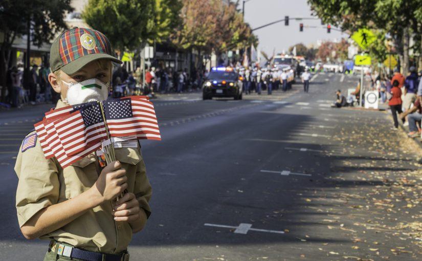 Petaluma Veteran's Parade 2018