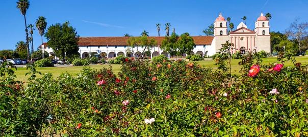 cTv RV Life, Santa Barbara Mission, downtown fun and beach playtime