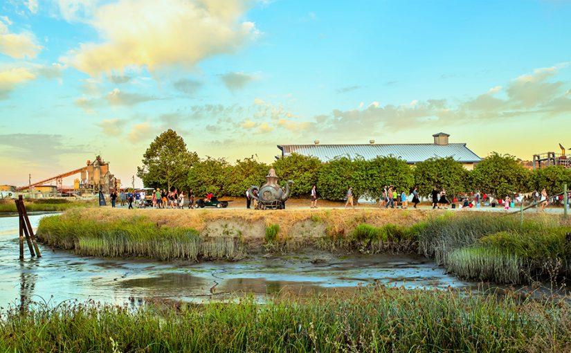 2017 Petaluma Rivertown Revival, Steampunk, Drone, Music, Art