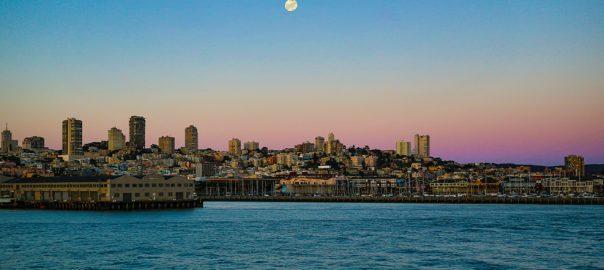Cruising San Francisco, Palace Fine Arts, Pier 39 Fishermans Wharf