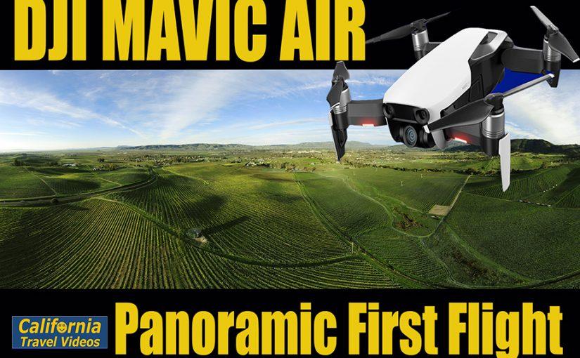Mavic Air Panoramic First Flight – cTv