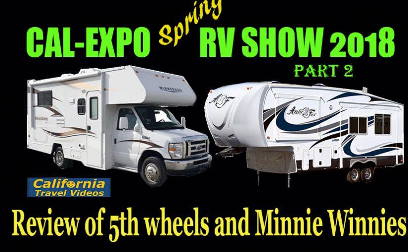 CalExpo RV Show #2, Lance, Arctic Fox, Minnie Winnie