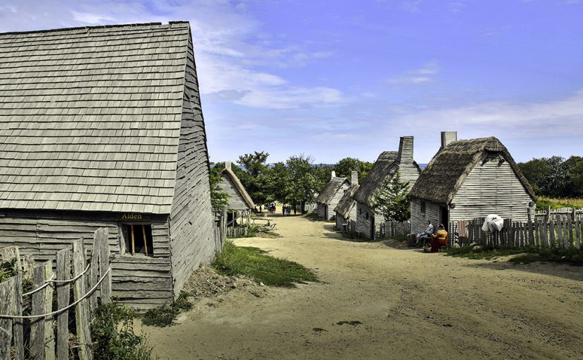 Plimouth Village – Lives of Pilgrim Settlers and Native American Indians